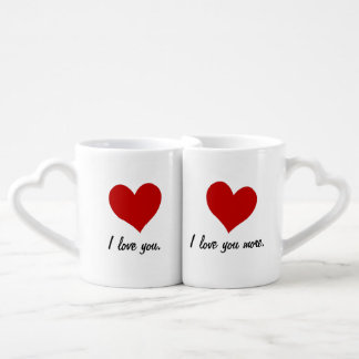I Love You, I Love You More Coffee Mug Set