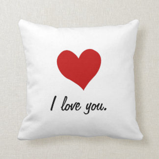 I Love You, I Love You More Cushion