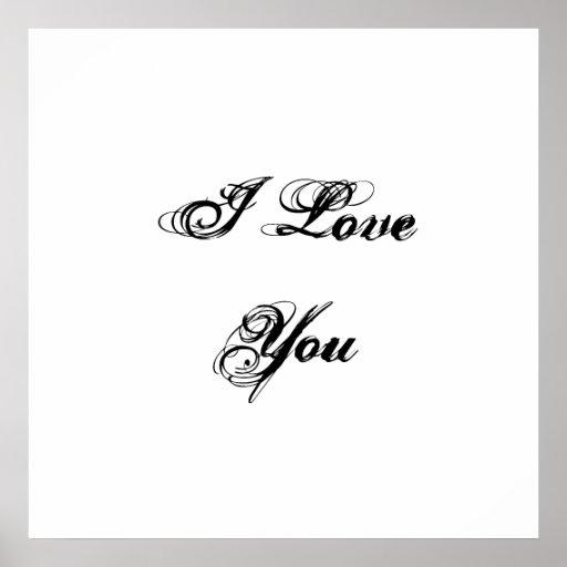 i love you in cursive font - photo #19