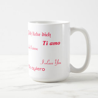 I Love You In Five Languages Mugs