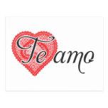 I love you in Spanish - Te amo Post Card