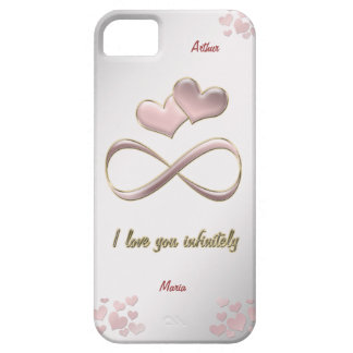 I love you infinitely case for the iPhone 5