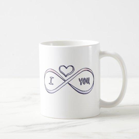 I love you infinitely coffee mug