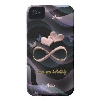 I love you infinitely iPhone 4 case