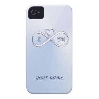 I love you infinitely iPhone 4 cover