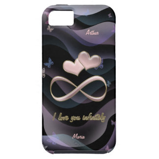 I love you infinitely iPhone 5 case