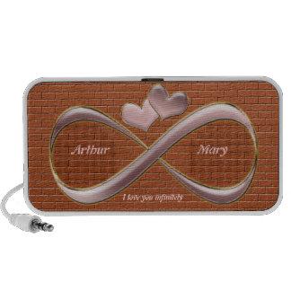 I love you infinitely laptop speakers