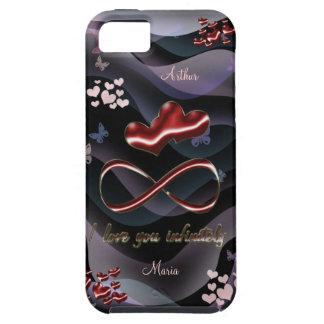I love you infinitely tough iPhone 5 case