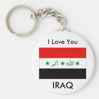 I Love You IRAQ Key Ring