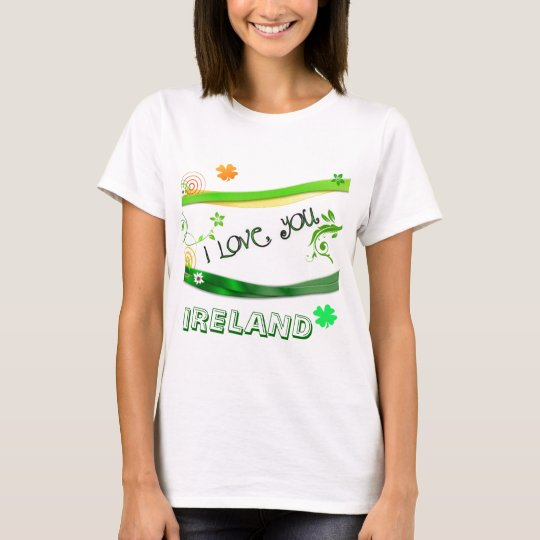 I Love You Ireland T-Shirt