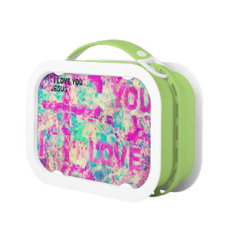 I Love You JESUS Lunch Box