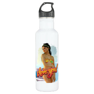 I Love You Keira 710 Ml Water Bottle