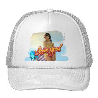 I Love You Keira Trucker Hat