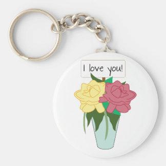I Love You! Keychains