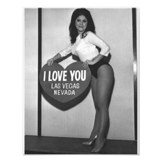 I Love You Las Vegas, Nevada Print