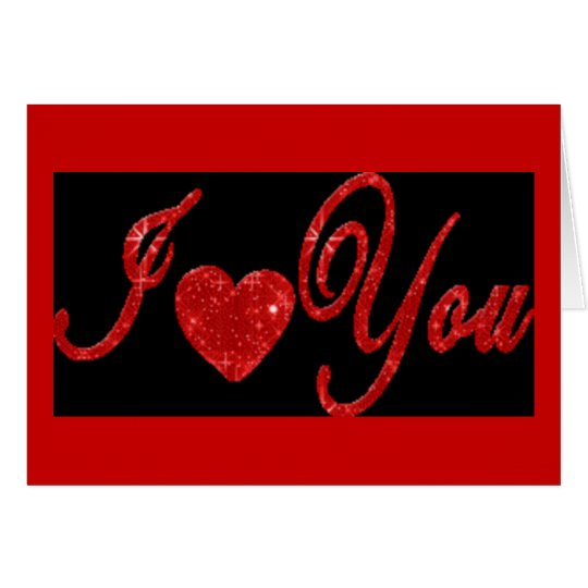 I Love You! - Marriage Proposal Greeting Card