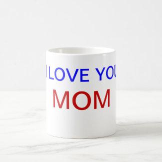 I Love You MOM Cup Basic White Mug
