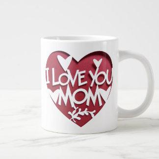 I Love You Mom Large Coffee Mug