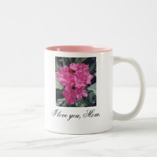I Love You, Mom Two-Tone Mug