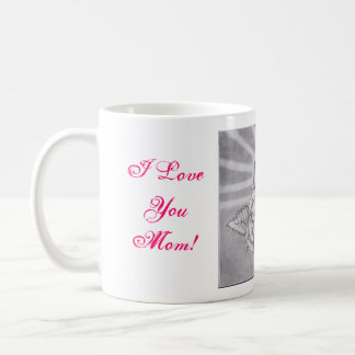 I Love you Mom! Basic White Mug