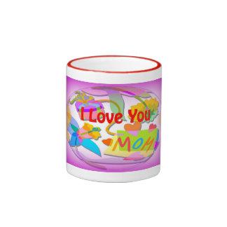 I Love You Mom Mugs and More