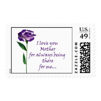 I love you Mom Postage Stamp