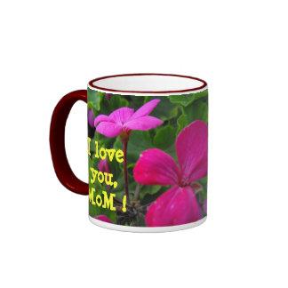 I love you,MoM ! Ringer Mug