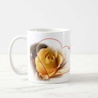 I love you Mom rose Mug