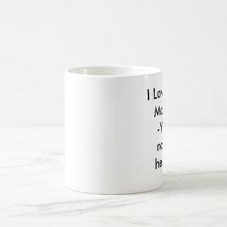 I Love You Mom!!!-Your name here!!! Basic White Mug