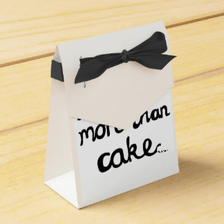 I Love You More Than Cake Favour Boxes