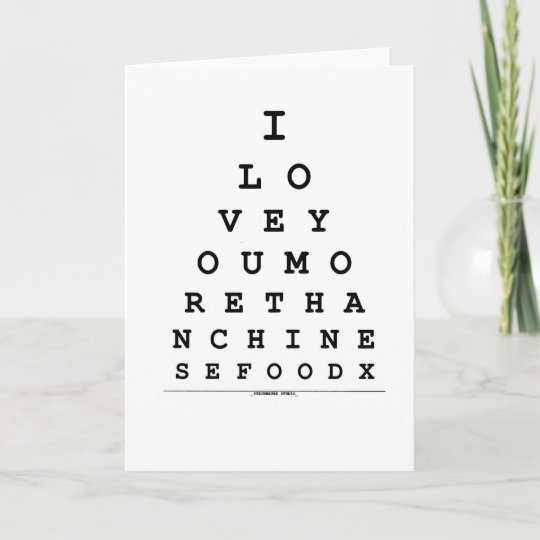 I Love You More Than Chinese Food Card Zazzle
