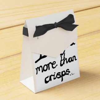 I Love You More Than Crisps Wedding Favour Boxes
