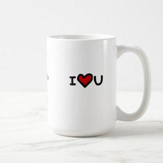"""""""I love you more than tea"""" Coffee Mug"""