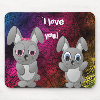 I Love You! Mouse Pad