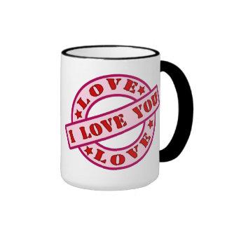 I LOVE YOU MUG te quiero Taza De Café
