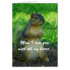 I love you Mum/ Happy Mother's Day_Card Card