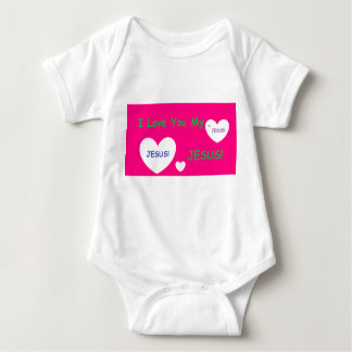 'I Love You My Jesus' Baby Romper Baby Bodysuit