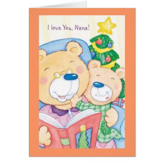I Love You, Nana Card