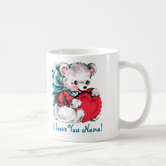 I Love You Nana. Mother's Day Gift Mug