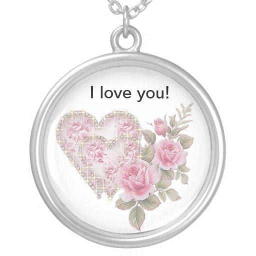 I  Love you Pendant