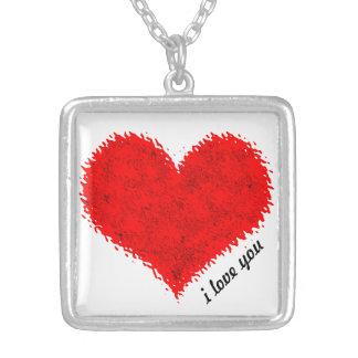 I love you custom jewelry