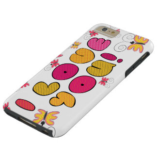 """""""I love you"""" note, best gift ideas Tough iPhone 6 Plus Case"""