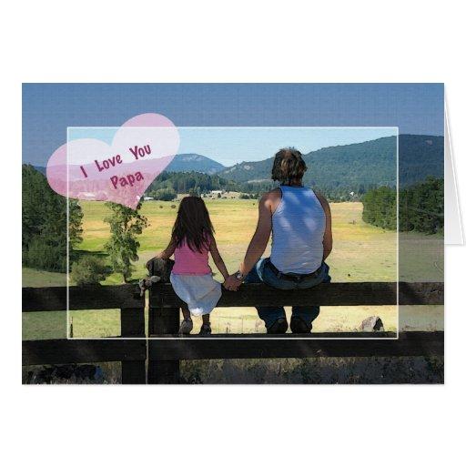 I Love You Papa, Birthday Greeting Cards