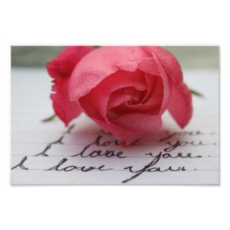 I Love You Photograph