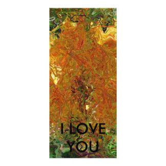 I LOVE YOU RACK CARD
