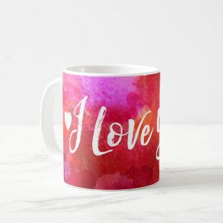 I Love You Red Valentine's Day Coffee Mug
