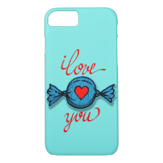 I love you (red written) iPhone 8/7 case
