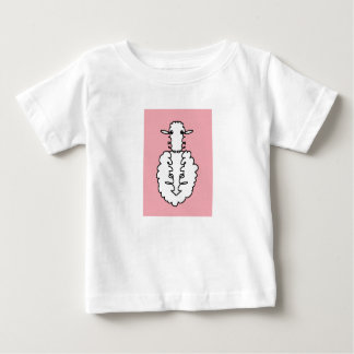 """I Love you"" Sheep Baby T-Shirt"