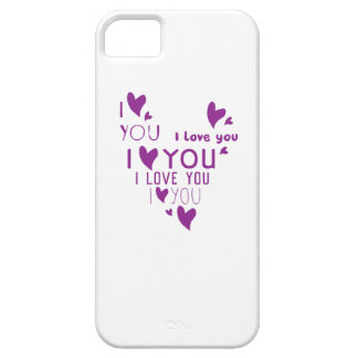 I Love You - Show your love. iPhone 5 Case