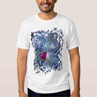 I LOVE YOU / sign language T-shirts